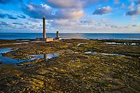 France, Manche (50), Cotentin, Gatteville-le-Phare ou Gatteville-Phare, le phare de Gatteville ou phare de Gatteville-Barfleur et le sémaphore situés à la pointe de Barfleur // France, Normandy, Manche department, Cotentin, Gatteville-le-Phare or Gatteville-Phare, the lighthouse of Gatteville or lighthouse of Gatteville-Barfleur and the semaphore located at the tip of Barfleur