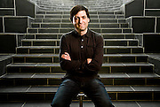 Dan Ariely, Behavioral Economist, photographed by Brian Smale at Duke University, Durham NC, for Fortune Magazine.