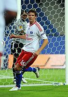 Fotball<br /> Tyskland<br /> Foto: Witters/Digitalsport<br /> NORWAY ONLY<br /> <br /> 01.10.2009<br /> <br /> 2:0 Jubel Marcus Berg HSV<br /> <br /> Europa League Hamburger SV - Hapoel Tel Aviv