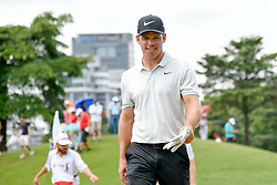October 13, 2018 - Kuala Lumpur, Malaysia - Paul Casey of England pictured during round three of the CIMB Classic at TPC Kuala Lumpur on 13 October, 2018 in Kuala Lumpur, Malaysia  (Credit Image: © Chris Jung/NurPhoto via ZUMA Press)