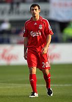 Photo: Maarten Straetemans.<br /> Shanghai Shenhua v Liverpool. Rotterdam Tournament. 03/08/2007.<br /> Javier Mascherano (Liverpool)