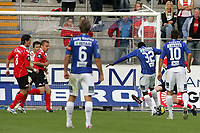 Fotball , 12 Juli 2009<br /> Tippeligaen<br /> Molde - brann 4-1<br /> mame biram diouf - molde<br /> <br /> <br /> Foto: Richard Brevik , Digitalsport