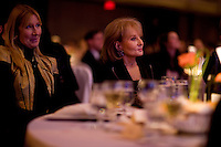 Barbara Walters at the 2009 International Emmy Awards Gala hosted by the International Academy of Television Arts & Sciences in New York.  ***EXCLUSIVE***