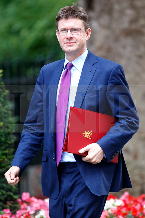 © Licensed to London News Pictures. 18/07/2017. Business, Energy and Industrial Strategy Secretary GREG CLARK attends a cabinet meeting in Downing Street, London on Tuesday, 18 July 2017 London, UK. Photo credit: Tolga Akmen/LNP
