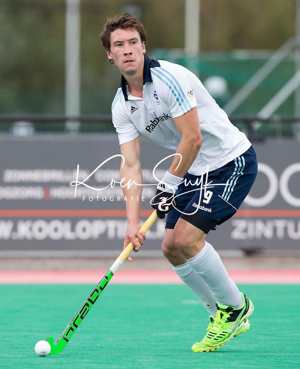 ROTTERDAM -  Arjen Lodewijks  van HC Tilburg tijdens de voorbereiding voor het hoofdklasse heren seizoen 2014/2015. COPYRIGHT KOEN SUYK