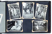 happy times photo album page 1930s England