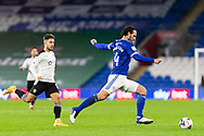 Cardiff City's Captain Sean Morrison (4) in action during the EFL Sky Bet Championship match between Cardiff City and Barnsley at the Cardiff City Stadium, Cardiff, Wales on 3 November 2020.