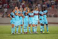 BILDET INNGÅR IKEK I FASTAVTALER. ALL NEDLASTING BLIR FAKTURERT.<br /> <br /> Fotball<br /> England<br /> Foto: imago/Digitalsport<br /> NORWAY ONLY<br /> <br /> West Ham s Martin Samuelsen<br /> UEFA Europa League 2015-2016 Second Qualifying Round, Second Leg National Stadium, Ta Qali, Malta Thursday, 23rd July 2015 - 23/07/2015 West Ham United FC players during the penalty shoot-out during the second qualifying round, second leg match in Malta between Birirkirkara FC and West Ham United UEFA Europa League 2015/2016 Competition - Second Qualifying Round