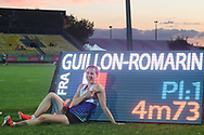 Ninon Guillon-Romarin competes and breaks the French record (4,73m) during the Athletics French Championships 2018, in Albi, France, on July 7th, 2018 - Photo Philippe Millereau / KMSP / ProSportsImages / DPPI