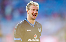 26.05.2012, Ullevaal Stadion, Oslo, NOR, UEFA EURO 2012, Testspiel, Norwegen vs England, im Bild England's goalkeeper Joe Hart (Manchester City) during the Preparation Game for the UEFA Euro 2012 betweeen Norway and England at the Ullevaal Stadium, Oslo, Norway on 2012/05/26. EXPA Pictures © 2012, PhotoCredit: EXPA/ Propagandaphoto/ Vegard Grott..***** ATTENTION - OUT OF ENG, GBR, UK *****