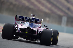 February 19, 2019 - Barcelona, Barcelona, Spain - Lance Stroll of Canada driving the (18) Racing Point RP19 Mercedes during day two of F1 Winter Testing at Circuit de Catalunya on February 19, 2019 in Montmelo, Spain. (Credit Image: © Jose Breton/NurPhoto via ZUMA Press)