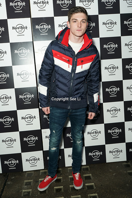 Hard Rock Cafe London, England, UK. 4th Dec 2017. James Smith Arrivals at Fight For Life Charity Event of Christmas festivities and entertainment for children with cancer.