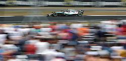Mercedes Lewis Hamilton during the 2018 British Grand Prix at Silverstone Circuit, Towcester.