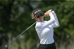 May 6, 2018 - The Colony, TX, U.S. - THE COLONY, TX - MAY 06: Natalie Gulbis (USA) hits from the 4th tee during the Volunteers of America LPGA Texas Classic on May 6, 2018 at the Old American Golf Club in The Colony, TX. (Photo by George Walker/Icon Sportswire) (Credit Image: © George Walker/Icon SMI via ZUMA Press)