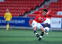 Fotball; 12 september 2006; Tromsø; Alfheim Stadion; G15; Landskamp Norge - Sverige 1-1; Bardh Shala (Vålerenga)