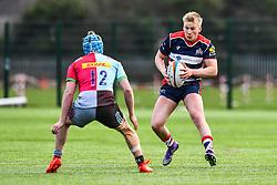 Bertie Scoble of Bristol Academy U18 in action - Mandatory by-line: Craig Thomas/JMP - 03/02/2018 - RUGBY - SGS Wise Campus - Bristol, England - Bristol U18 v Harlequins U18 - Premiership U18 League