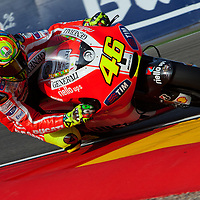2011 MotoGP World Championship, Round 14, Motorland Aragon, Spain, 18 September 2011, Valentino Rossi