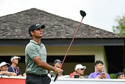 October 13, 2018 - Kuala Lumpur, Malaysia - Shubhankar Sharma of India in action during third round of the CIMB Classic at TPC Kuala Lumpur on 13 October, 2018 in Kuala Lumpur, Malaysia  (Credit Image: © Chris Jung/NurPhoto via ZUMA Press)