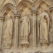 Salisbury Cathedral Statues - Salisbury, UK