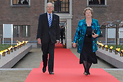 Prins Willem-Alexander heeft in Amsterdam een tentoonstelling over de Russische tsaar Peter de Grote in de Hermitage geopend. De toekomstige koning van Nederland is beschermheer van de Hermitage en een verre nazaat van de Russische tsaar. <br /> <br /> Prince Willem-Alexander in Amsterdam, an exhibition on the Russian Tsar Peter the Great at the Hermitage opened. The future king of the Netherlands is the patron of the Hermitage and a distant descendant of the Russian Tsar.<br /> <br /> Op de foto / On the photo: