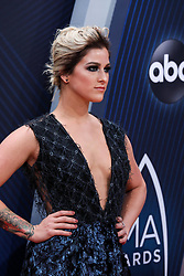 52nd Annual Country Music Association Awards hosted by Carrie Underwood and Brad Paisley and held at the Bridgestone Arena on November 14, 2018, in Nashville, TN. © Curtis Hilbun / AFF-USA.com. 14 Nov 2018 Pictured: Cassadee Pope. Photo credit: Curtis Hilbun / AFF-USA.com / MEGA TheMegaAgency.com +1 888 505 6342