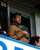 Photo: Ed Godden/Sportsbeat Images.<br />Chelsea v Wigan Athletic. The Barclays Premiership. 13/01/2007. Chelsea FC owner, Roman Abramovich watches from the stands.