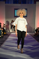 Fashion show organised by Helen Georgio from Buzz Talent for up and coming designers. Let It bee Mode showed diversity in the fashion industry. Connaught Rooms London. 16.02.20