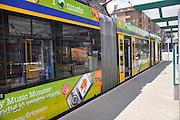 Eastern Europe, Hungary, Budapest, Tram
