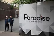 Paradise in Birmingham, United Kingdom.