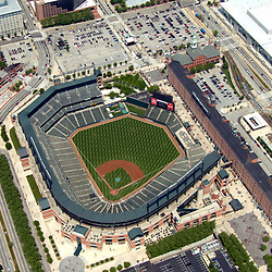 Aerial Photograph of the Baltimore Orioles Camden Yards