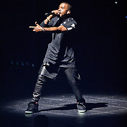 WASHINGTON, DC - November 3rd, 2011 - Kanye West performs at the Verizon Center in Washington D.C. as part of the Watch The Throne tour with Jay-Z.  (Photo by Kyle Gustafson/For The Washington Post)