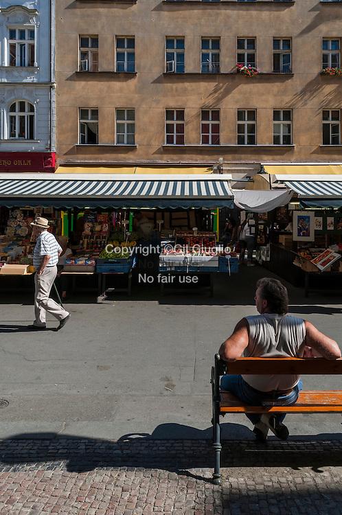 Czech Republic, Prague, old town Stare Mesto, Praha 1, Havelska place and craft market