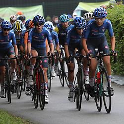 28-08-2020: Wielrennen: EK wielrennen: Plouay<br /> Italianen controleren de koers