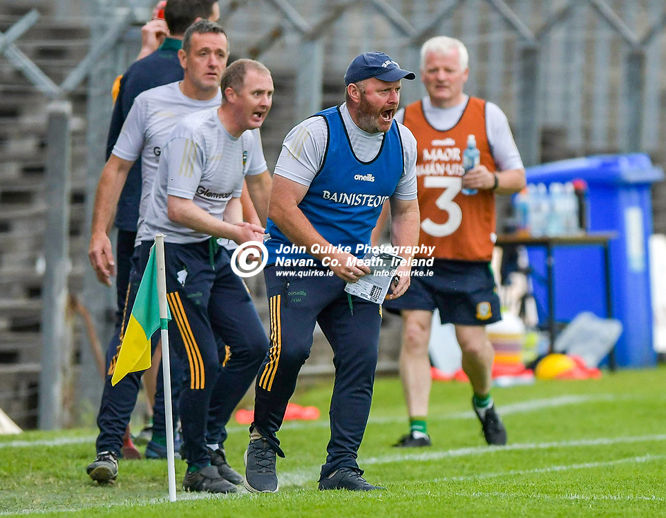 Meath hurling manager Nick Weir,  in action for Meath,  during the Meath v Kerry,  Joe McDonagh Cup match at Pairc Tailteann, Navan.<br /> <br /> Photo: GERRY SHANAHAN-WWW.QUIRKE.IE<br /> <br /> 10-07-2021