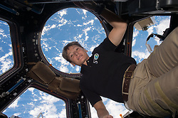 Apr 24, 2017 - Space - 534 days, 2 hours, 49 minutes and counting. NASA astronaut PEGGY WHITSON flew through the standing record for cumulative time spent in space by a U.S. astronaut at 1:27 a.m. EDT on April 24, 2017, and with the recent extension of her stay at the International Space Station, she has five months to rack up a new one. In 2008, Whitson became the first woman to command the space station, and on April 9 became the first woman to command it twice. In March, she seized the record for most spacewalks by a female. Now, after launching on Nov. 17 with 377 days in space already under her belt, she's surpassed astronaut Jeff Williams' previous United States record of 534 days, 2 hours and 48 minutes of cumulative time in space. This is Whitson's third long-duration stay onboard the space station, and in March her mission was extended into September, increasing the amount of valuable astronaut time available for experiments on board the station. When she returns to Earth, she'll have spent more than 650 days in space, and decades supporting spaceflight from the ground. (Credit Image: ? NASA/ZUMAPRESS.com)