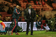 Aitor Karanka (Middlesbrough) during the Sky Bet Championship match between Middlesbrough and Wolverhampton Wanderers at the Riverside Stadium, Middlesbrough, England on 4 March 2016. Photo by Mark P Doherty.