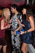 LAURA WHITMORE; ZAWE ASHTON; JAMEELA JAMIL, InStyle Best Of British Talent , Shoreditch House, Ebor Street, London, E1 6AW, 26 January 2011