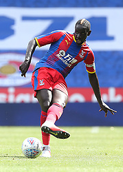 """Crystal Palaces Mamadou Sakho during the pre-season friendly match at the Madejski Stadium, Reading. PRESS ASSOCIATION Photo. Picture date: Saturday July 28, 2018. See PA story SOCCER Reading. Photo credit should read: Mark Kerton/PA Wire. RESTRICTIONS: EDITORIAL USE ONLY No use with unauthorised audio, video, data, fixture lists, club/league logos or """"live"""" services. Online in-match use limited to 75 images, no video emulation. No use in betting, games or single club/league/player publications."""