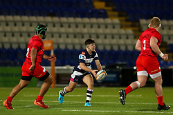 Kieran Wilkinson of Coventry Rugby (dual-registered with Sale Sharks)  - Mandatory by-line: Nick Browning/JMP - 26/02/2021 - RUGBY - Butts Park Arena - Coventry, England - Coventry Rugby v Saracens - Friendly