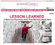 2015 05 06 Tearsheet Huffington Post Haiti