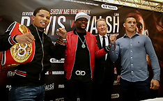 London: Floyd Mayweather Jr Press Conference - 7 March 2017