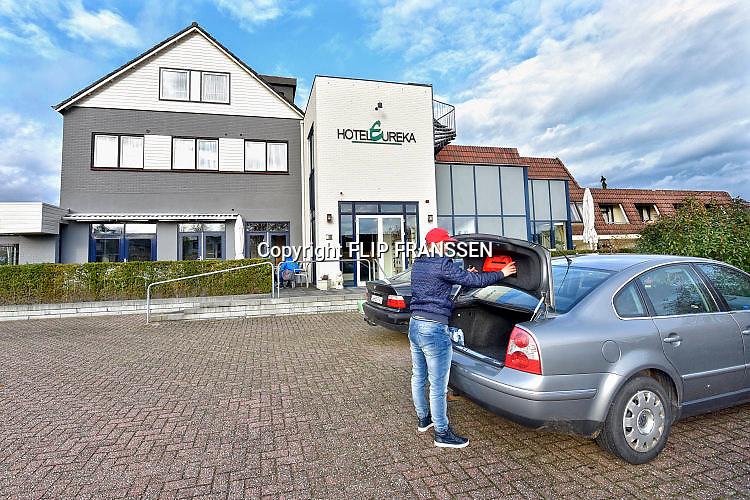Nederland, Zeddam, 23-11-2017In Zeddam worden veel Poolse arbeidskrachten ondergebrachjt in hotels en appartementen die eigenlijk bestemd zijn voor toeristen en het toerisme. De Polen zijn een vaste groep inwoners geworden van dit kleine dorp..Foto: Flip Franssen