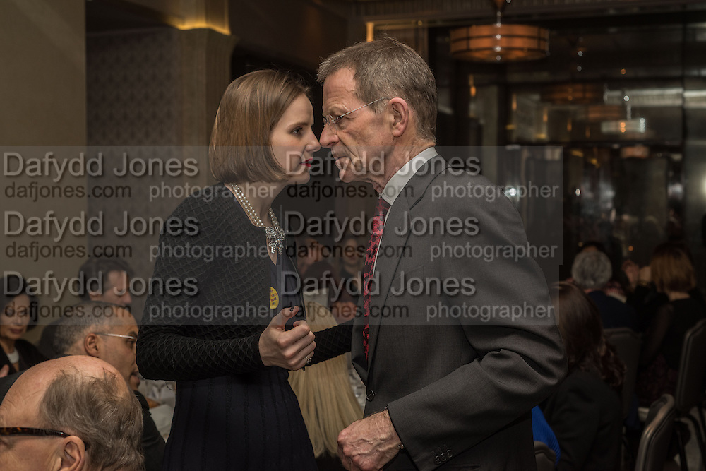 SOPHIE WALKER; SIR NICHOLAS SEROTA, Anish Kapoor and Lee Ufan preview dinner hosted by the Lisson Gallery after the opening on Bell St. The Connaught. London. 23 March 2015