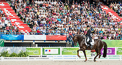 Helen Langehanenberg, (GER), Damon Hill NRW - Freestyle Grand Prix Dressage - Alltech FEI World Equestrian Games™ 2014 - Normandy, France.<br /> © Hippo Foto Team - Jon Stroud<br /> 25/06/14