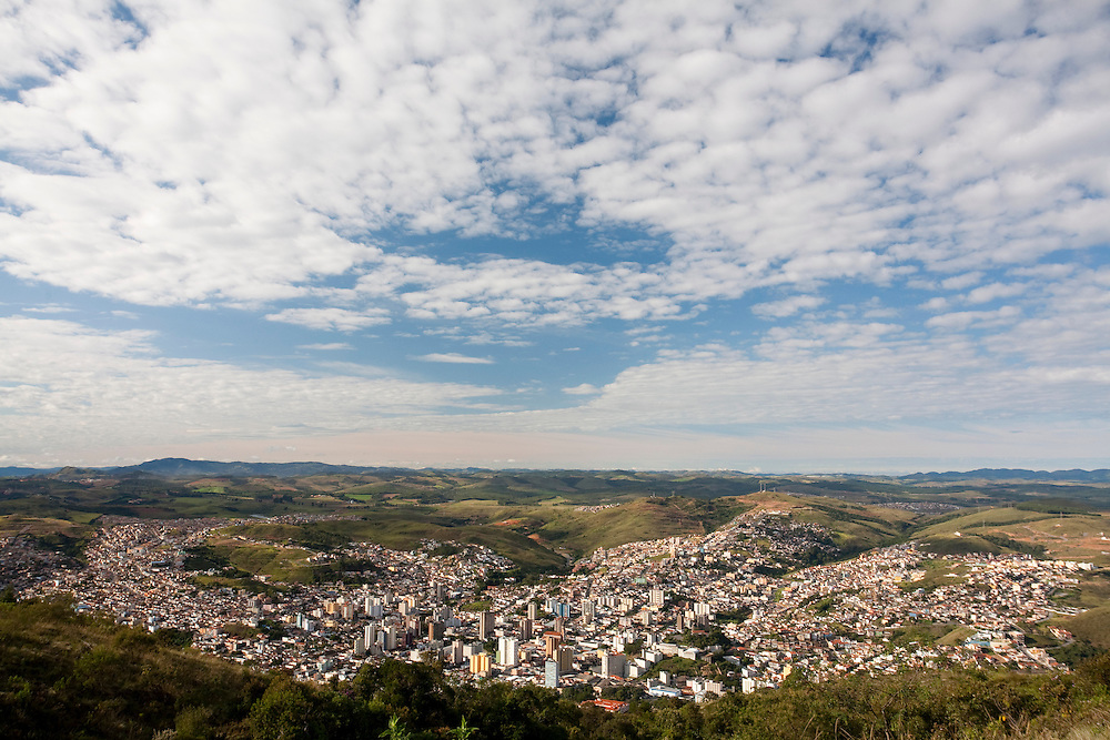 Pocos de Caldas_MG, Brasil...Vista panoramica de Pocos de Caldas...The panoramic view of Pocos de Caldas...Foto:LEO DRUMOND / NITRO