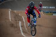 #50 (FALLA BUCHELY Emilio Andres) ECU at the 2014 UCI BMX Supercross World Cup in Santiago Del Estero, Argentina.