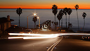 T-Street at Sunset in San Clemente