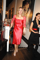 BARONESS ERIKA VON SCHUBERT at a private view of paintings by Lita Cabellut and Russian artist Yuri Kuper at Opera Gallery, 134 New Bond Street, London on 2nd April 2008.<br /><br />NON EXCLUSIVE - WORLD RIGHTS