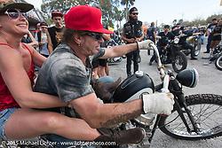 "Willie's Tropical Tattoo ""Old School Show"" during Daytona Beach Bike Week 2015. FL, USA. March 12, 2015.  Photography ©2015 Michael Lichter."