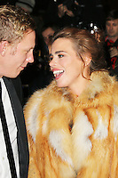 Laurence Fox; Billie Piper, London Evening Standard Theatre Awards, The Savoy Hotel, London UK, 17 November 2013, Photo by Richard Goldschmidt